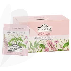 Herbal tea AHMAD Verbena, 20 teabags in foil envelopes | Officeday